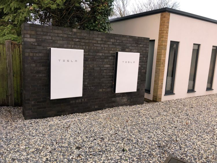 Tesla Powerwall for Clear Architects