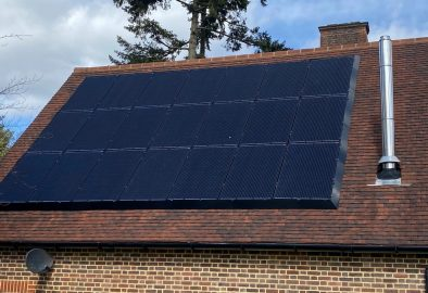 6kWp in Farnham with SolarEdge and a Tesla Powerwall