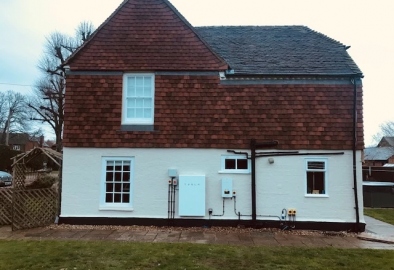 Bentley - a new 5.85kWp PV system and a Tesla Powerwall