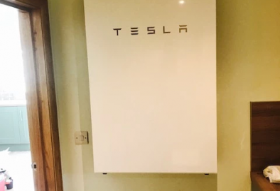 Our first Tesla install